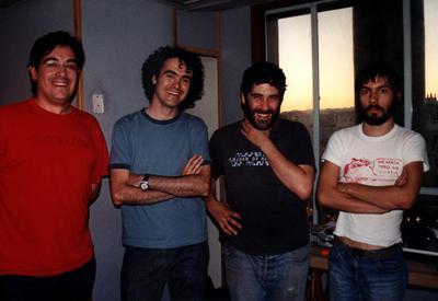 Con Ricky y Enric Standstill