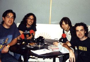 Con Rams y Pablo de Jet Lag