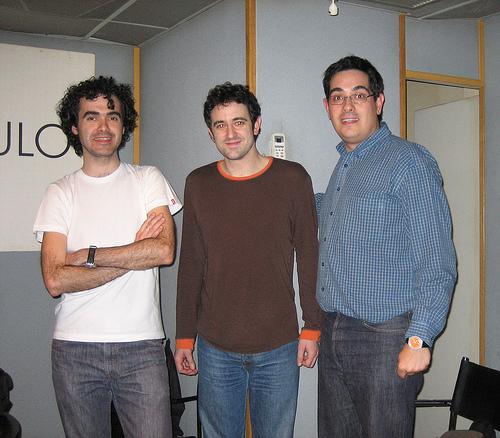 Roberto Herreros, del trío madrileño Garzón, en la Isla