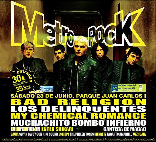 . : MetroRock 2007 - 23 de Junio, Parque Juan Carlos I, Madrid : .