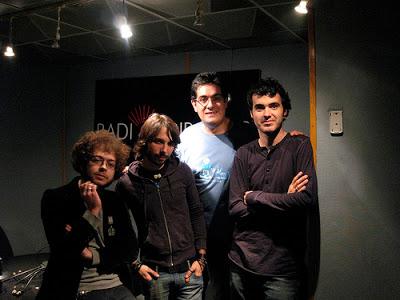 Con Diego y Rams de Jet Lag