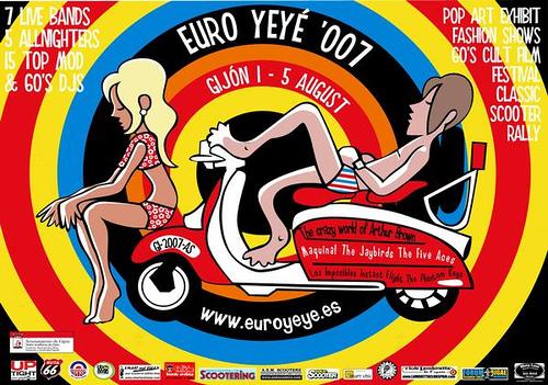 Euroyeye 2007 del 1 al 5 de agosto de 2007 en Gijón