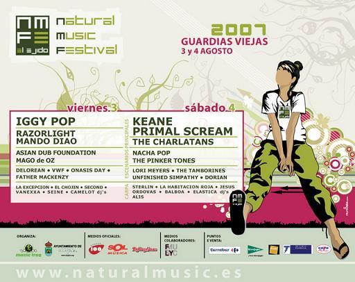 Natural Music Festival - 3 y 4 de agosto de 2007 en Guardas Viejas, El Ejido (Almería)