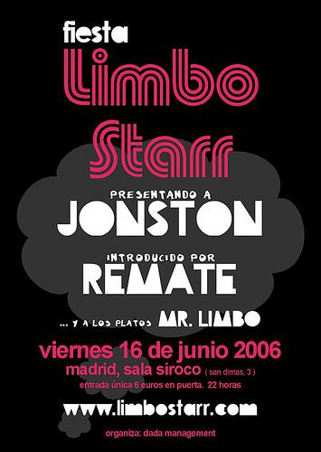 fiesta Limbo Starr, 16/06/2006 en MADRID