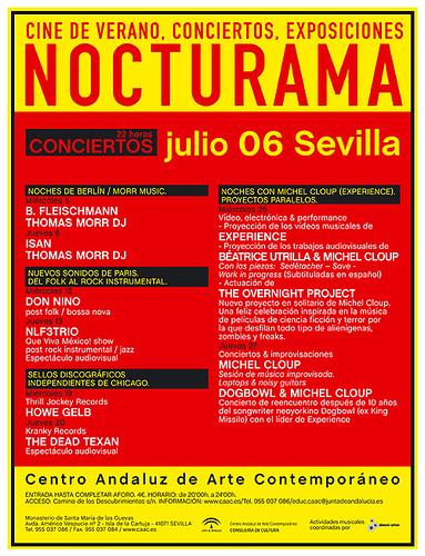 Ciclo Nocturama -SEVILLA- Julio 2006