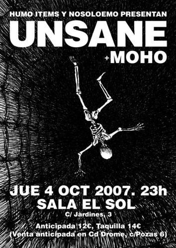 Unsane (Ipecac/NYC) + Moho