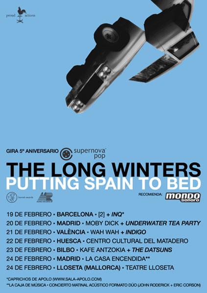 The Long Winters de gira en febrero de 2007